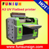 Impressora Flatbed da Multi-Fonction lâmpada UV do tamanho da impressão de A3 A4 com cabeça Dx5 para a caixa de vidro do telefone da esfera de golfe da pena de madeira