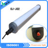 L'indicatore luminoso lineare impermeabile, espone all'aria il tubo resistente IP65