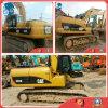 2010~2012 excavador de tamaño mediano usado de la correa eslabonada de la oruga 320d de la retroexcavadora del Diesel-Motor 0.5~1.5cbm/20ton