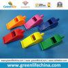 Silbido plástico del regalo estándar de la seguridad para el deporte usando en diversos colores modificados para requisitos particulares
