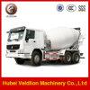 HOWO 8m3の具体的なミキサーのトラック