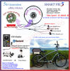 Golden Motor Smart Pie 5 200W/350W/400W Bluetooth Programmable Ebike Kit/Electric Bicycle Conversion Kit