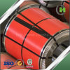 Sheets Protection를 위한 Plastic Adhesive Film를 가진 색깔 Coated Steel Coil