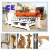 5 Mittellinie Wooden CNC Router Machinery mit Rotary Axis