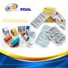 熱い販売のアルミニウムPtpホイルの梱包材のペーパーによって支持されるアルミホイル