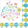 servilletas de vector de papel de los 25*25cm Elsa Ana