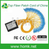 Cassette de fibra óptica del divisor 1*64