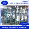 10t por o moinho de farinha do trigo do mercado de Paquistão India do dia