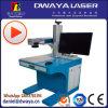Tarjeta conocida del buen servicio máquina de la marca del laser de la fibra de 20 vatios