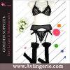 Eleganza des femmes 3 morceaux de soutien-gorge et Panty réglés (DY01-019A)