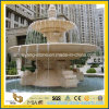 Outdoor 정원을%s 손 Carving 2 Tiered Stone Fountain
