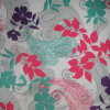 210d Ripstop Flowers PVC/PU Printed Polyester Fabric (XL-470-2)