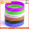 Bracelet jetable fait sur commande promotionnel populaire bon marché en bloc de silicium