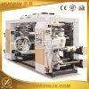 Quatro máquina de impressão Flexographic da película/papel das cores OPP/Pet/PE