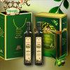 Cajas de regalo vendedoras calientes del almacenaje del papel de aceite de oliva con los bolsos de la manija