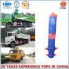 Derrubando o cilindro hidráulico do caminhão com alta qualidade e Ts16949