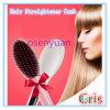 Escova automática elétrica do pente do Straightener do cabelo do presente de ano novo