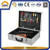 Caja de herramientas de aluminio dura bloqueable portable