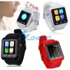 Ios AndroidのためのU80 Bluetooth 4.0 Smart Wristwatch Phone