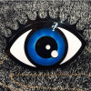 Augen-Dame-Handtaschen-Fonds-Schulter-nette Miniabend-Beutel Eb650