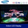Pantalla de visualización de interior video de LED de la pared P7.62 de HD