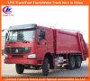 Venda quente 5-12 da carga útil de Sinotruck HOWO do compressor toneladas de caminhão de lixo
