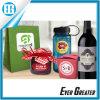 Quadratischer Aufkleber-flacher Zellophan-Kennsatz mit Firmenzeichen für das Geschenk-Verpacken