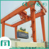 抗打ち工事20 ' &40'containerのためのレール敷のガントリークレーン(RMG)
