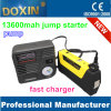 Double USB Outletとの16800mAh LCD表示Air PumpおよびSafety Hammer 12V/24V Car Jump Starter