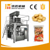 Electrónica de pesaje multicabezal Pequeñas Patatas fritas máquina de embalaje