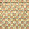 Mattonelle di mosaico quadrate di vetro dello specchio del diamante di 13 sfaccettature