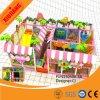 Campo da giuoco dell'interno del PVC di bambini dell'apparecchiatura di plastica del gioco