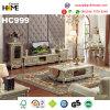 Mesa de centro de madera del mármol de los muebles del estilo europeo, Champán (HC999-1)