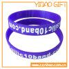 Изготовленный на заказ Wristband силикона логоса для подарков промотирования (YB-LY-WR-05)