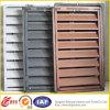 Obturadores interiores de aluminio de la seguridad de la manera/ventana de aluminio de la lumbrera