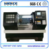 Torno de giro do CNC da base lisa com trilho endurecido Ck6150