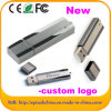 レーザーのロゴ(EM012)の最上質の金属USB