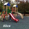 Azulejos de goma cuadrados/pavimentadora de goma colorida/azulejos de goma de los niños (GT0200)