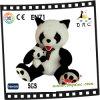 Brinquedo da família da panda do luxuoso