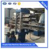 Azulejo de goma que hace la máquina, máquina de vulcanización de la prensa del azulejo de goma