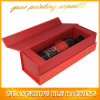 Les boîtes-cadeau de papier en verre de vin de carton vendent l'empaquetage en gros (BLF-GB134)