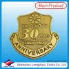 30. Anniversary Promotion Enamel Badge Metal Gold Army Pin Badge Medal wir Make Custom Embossed Metallogo Badges Pin Medal Factory (LZY201300280)