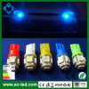 T10 5 LEIDENE van de Auto van Bollen SMD de Zij Auto Lichte 194 168 W5w LEIDENE van White/Red/Green/Blue Lamp van de Wig