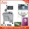 Metal y laser Marking Machine de Non-Metal Fiber para Ring Plastis