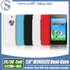 3G Dual SIM Mtk6572 Dual Core Android 7 Inch Tablets com Big Subwoofer Speaker (PMD724L)