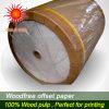 Papier excentré imperméable à l'eau de qualité pour l'impression offset