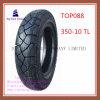 Superqualität, schlauchlose, lange Lebensdauer-Motorrad-Reifen mit 350-10tl