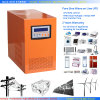 2000W Solar/Wind/Gas Generator/Battery Pure Sine Wave Inverter con Charger