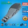 Luz de rua de alumínio de fundição 150W do diodo emissor de luz do excitador de Meanwell lente impermeável ao ar livre da luz de rua do diodo emissor de luz da aplicação da melhor 100 watts