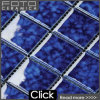Suelo de cerámica esmaltado azul del modelo de mosaico (DL-ID5615)